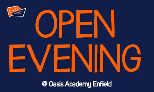 Open Evening: Tuesday 2nd October 5.00pm - 7.00pm