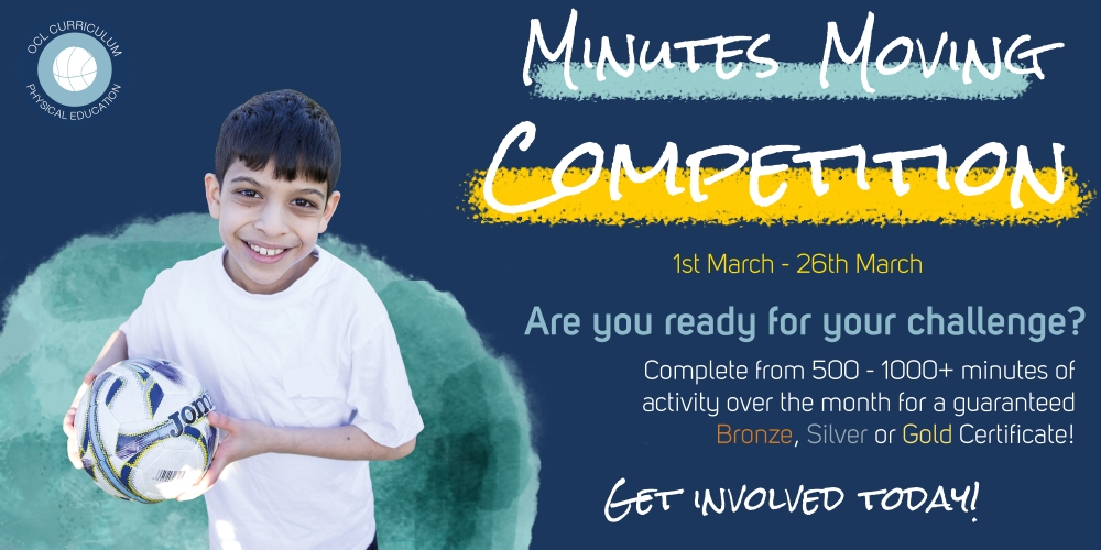 Join in the #MinutesMoving Competition!